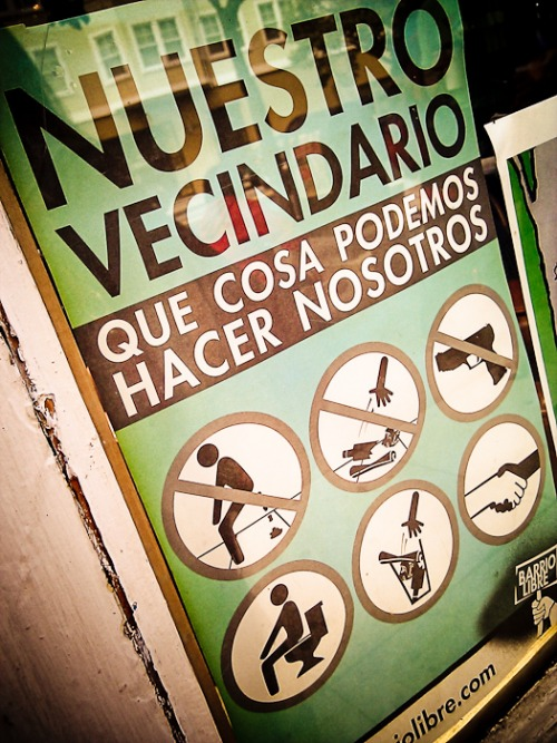 Wayfinding and Typographic Signs - nuestro-sign