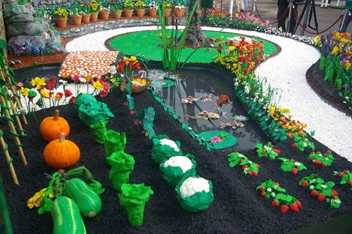 James May's Plasticine Garden in Plasticine Art Showcase