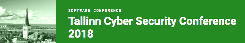 Tallinn Cyber Security Conference 2018