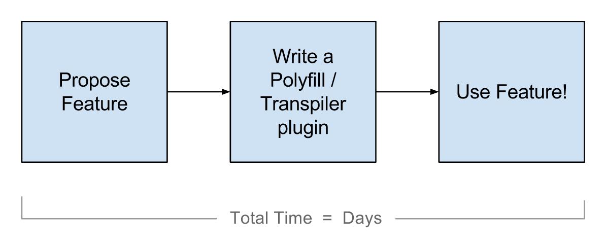JS polyfill process