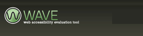 WAVE - Web Accessibility Evaluation Tool