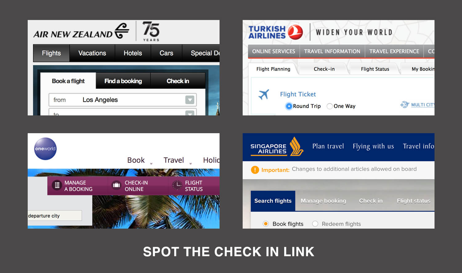 The State Of Airline Websites 2015 Lessons Learned Smashing Magazine