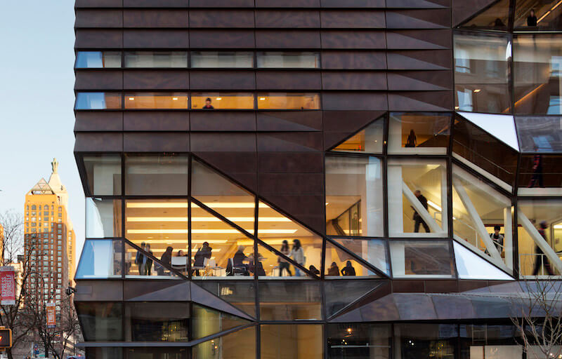 Parsons School, one of the most renowned design colleges in the world
