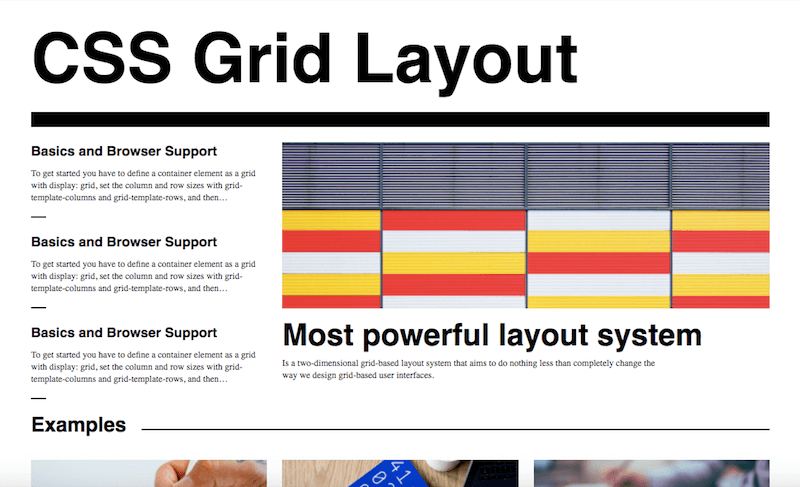 Css Grid Challenge Winners And Templates Smashing Magazine