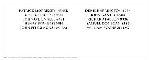 Two-Column Name Panel