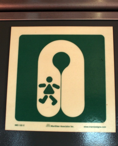 Wayfinding and Typographic Signs - child-life-jackets