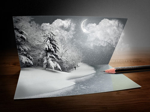 60 Beautiful Christmas Photoshop Tutorials