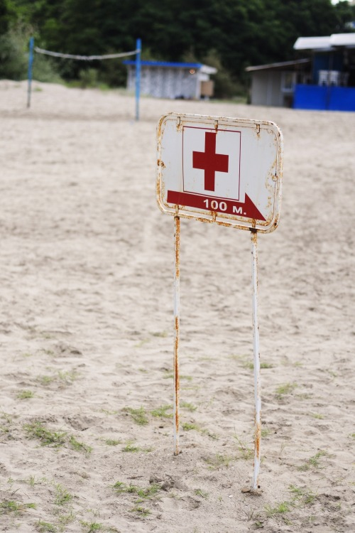 Wayfinding and Typographic Signs - medic