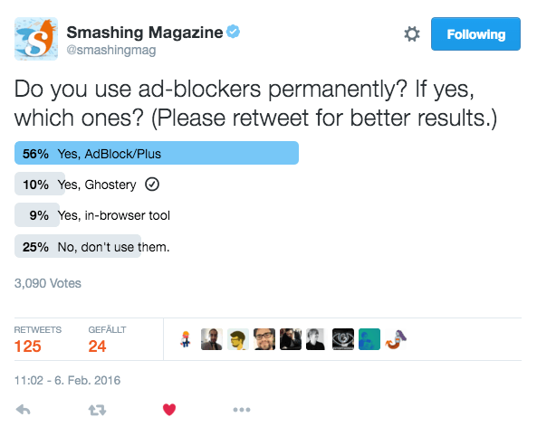 A Never-Ending Story On Ad-Blockers