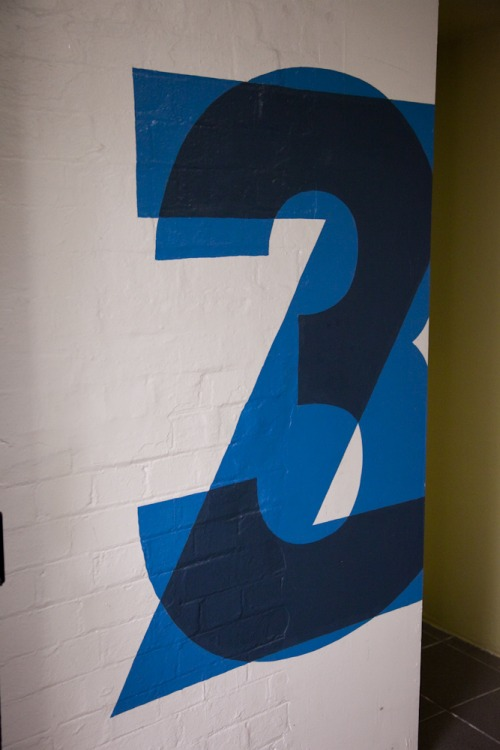 Wayfinding and Typographic Signs - zetland-house-type