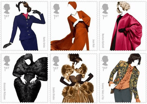 Fashion designer stamps