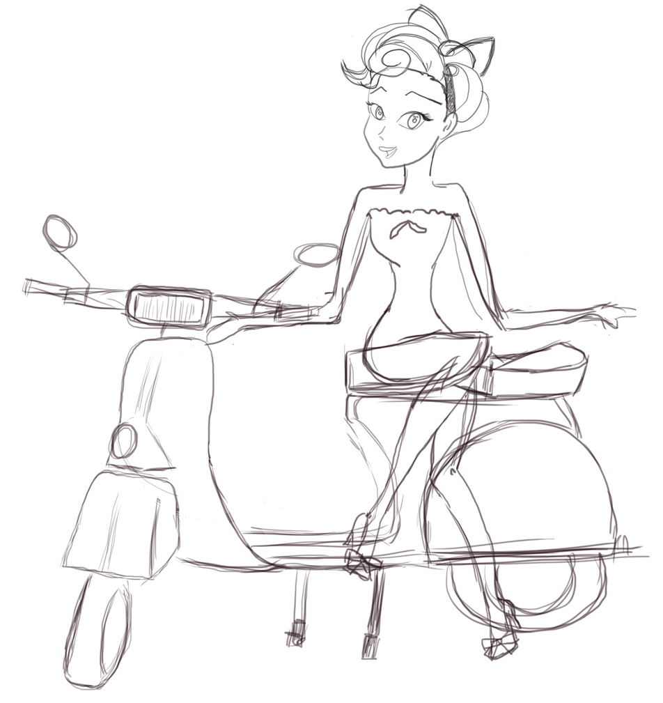 You are free to modify, resize and put your Vespa where you need it.
