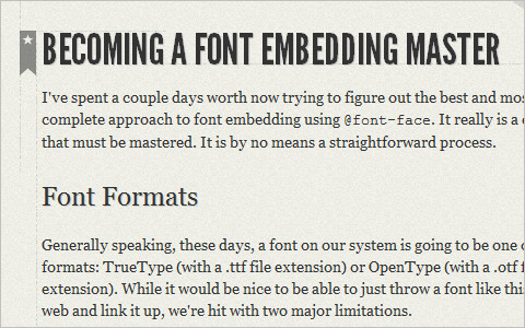 Useful Typography Resources - Becoming a Font Embedding Master