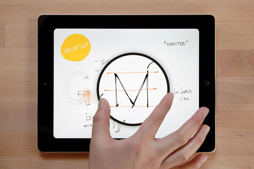 Paper by FiftyThree walks the reader through the enhanced UX of their zoom feature.