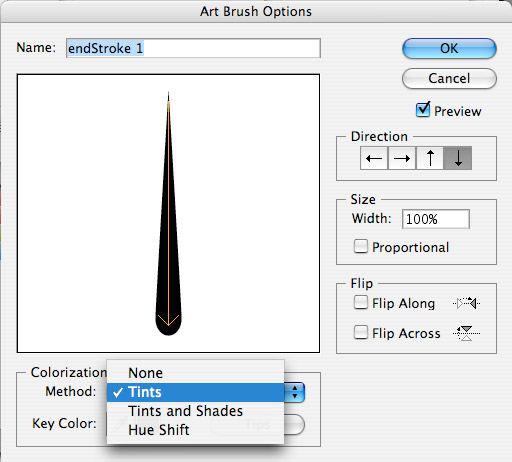 Custom Brush Settings