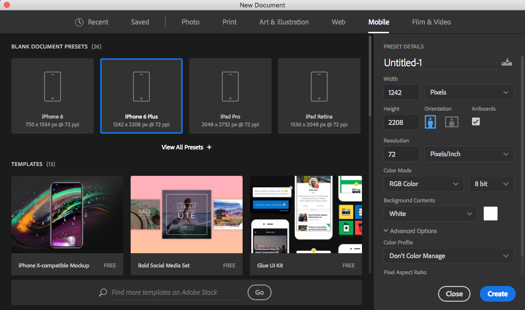 prototyping an app s design from photoshop to adobe xd smashing