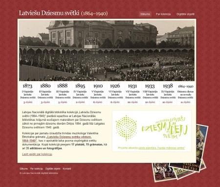Textures and Patterns Design - Latviešu Dziesmu svētki