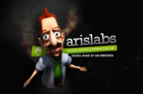 Ari´s Labs. The Digital Home of Graphic Designer Ari Hirvonen