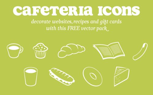 Free High Quality Icon Sets - Cafeteria Vector Icons