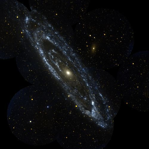 Space Photography - File:Andromeda galaxy.jpg