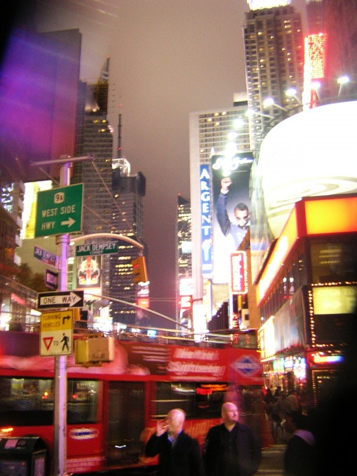 Wayfinding and Typographic Signs - time-square-signage-and-adverts