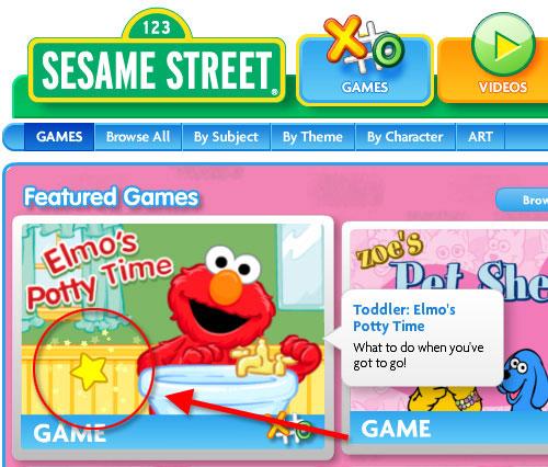 Sesame Street - Games