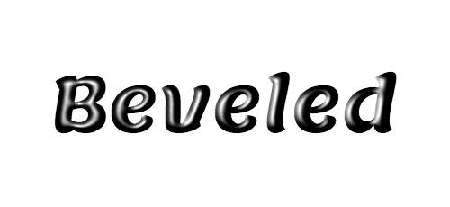 3D Bevel