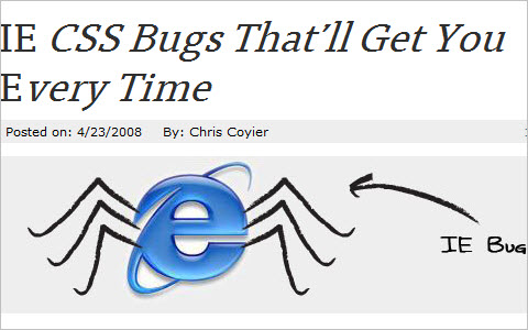 IE CSS Bugs That'll Get You Every Time