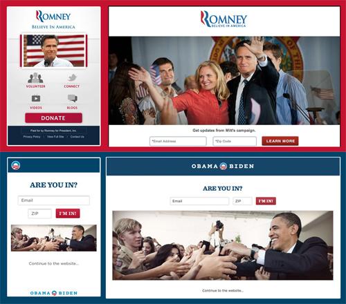 Separate Mobile Website Vs. Responsive Website: Presidential Smackdown Edition