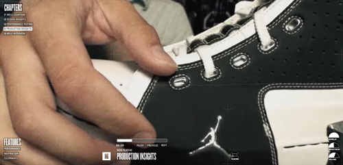 Nike: M6 in Background Video Showcase