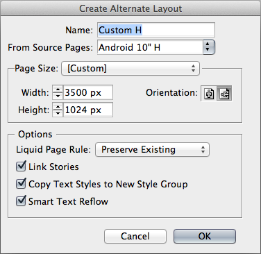 Alternate layouts are used to manage one design that will be viewed on multiple devices.