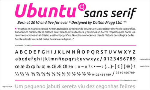 Ubuntu Family - Especimen