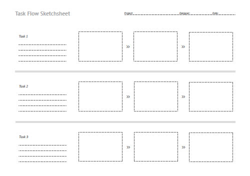 Free Printable Sketching Wireframing And Note Taking PDF Templates