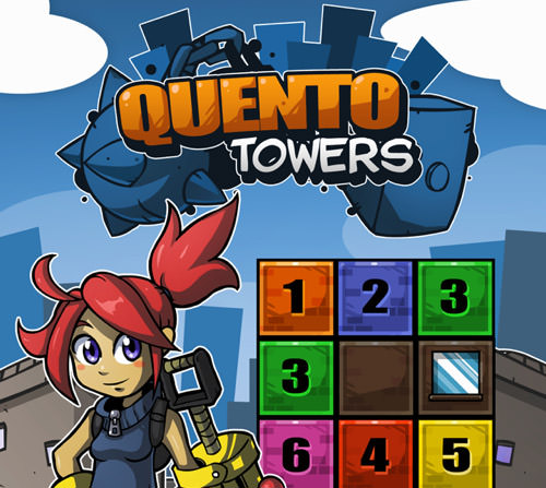 Possible title screen for Quento Towers