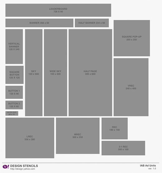 web wireframe templates