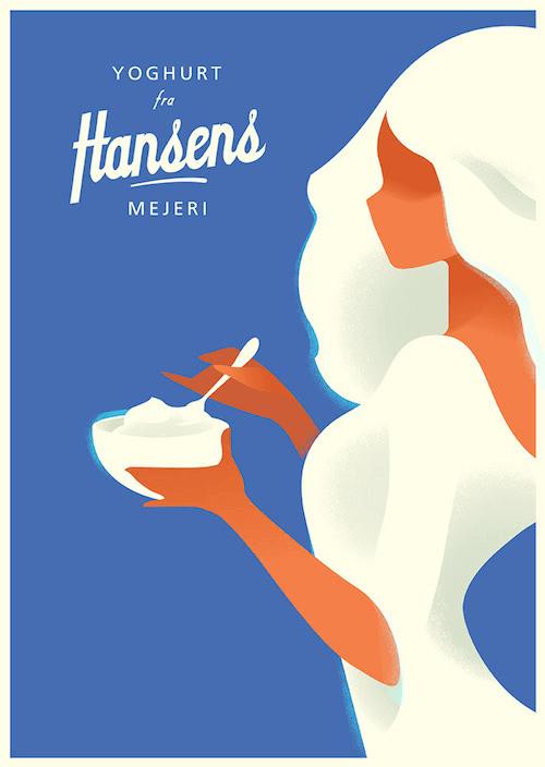 Yoghurt Hansens Mejeri