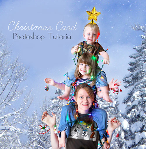 5f85041ff1441 60 Beautiful Christmas Photoshop Tutorials - 2016 2017 Edition ...