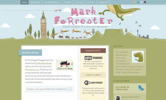 Designer Blog | 50 Beautiful And Creative Blog Designs Smashing Magazine