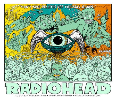 Radiohead by Jermaine Rogers