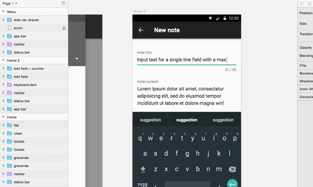 Sketch With Material Design — Smashing Magazine