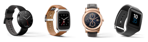 Android Wear is a custom version of the popular Android OS for smartwatches only