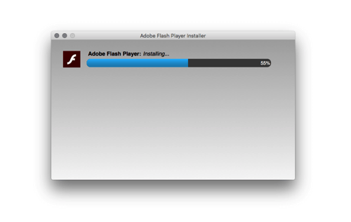 Oh man, not again! A new Flash player?!