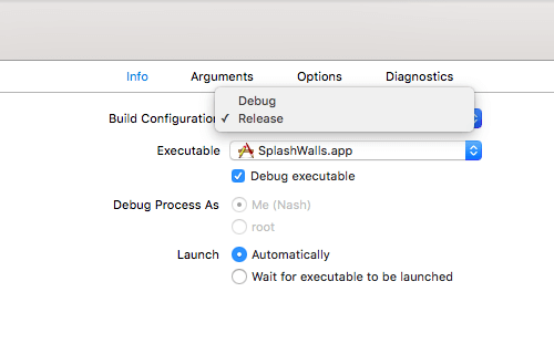 Change build configuration to Release.