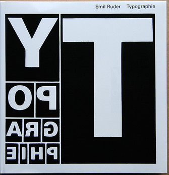 Book Covers - Emil Ruder's Typographie