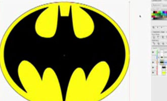 Batman Logo screen shot.