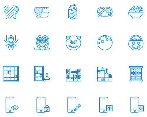 Webby icons
