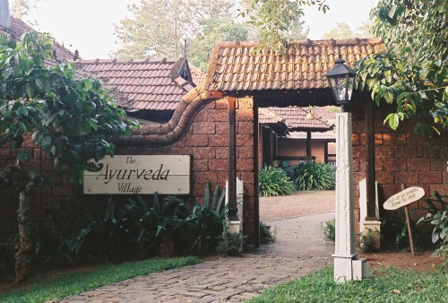 Wayfinding and Typographic Signs - ayurvedic-treatment-done-here