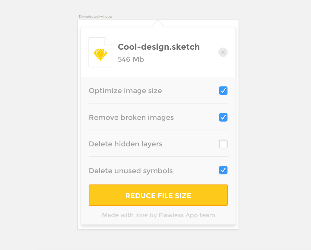Optimizing Sketch Files: Lessons Learned In Creating The Reduce App