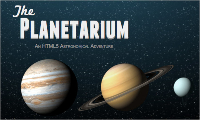 Firefox 4 Demos: Awesome CSS3 Planetarium