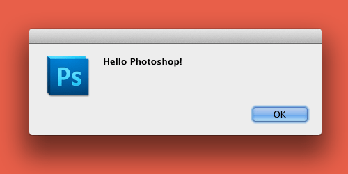 Hello Photoshop!